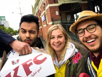 This bro gave us free KFC!