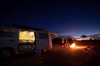 Stuart Highway Campfires